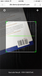 A Dynamsoft Barcode SDK Capture Via a Smartphone
