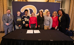 Milton Hershey School and the University of Pittsburgh have formalized a partnership to help financially disadvantaged students achieve success throughout their entire college experience.