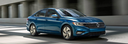2019 Volkswagen Jetta front fascia and passenger side