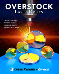 List includes over 400 different variations of optics made from copper, fused silica, germanium, silicon, and Zinc Selenide.