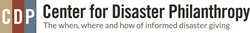 Center for Disaster Philanthropy