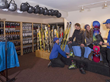Black Tie Ski Rentals, found onsite at the Sierra Nevada Resort, offer guests a hassle-free experience conveniently getting the right ski gear.