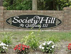 Society Hill at Galloway III Selects mem property management