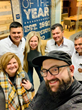 Leaders of the Asociacion de Productores de Café de Olopa coffee co-op meet with Crimson Cup staff at the Crimson Cup Innovation Lab in Columbus, Ohio
