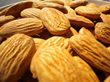 Detail pasteurized almonds