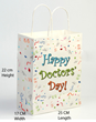 Happy Doctor's Day Gift Bag for National Doctors Day March 30th
