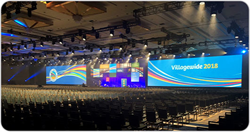 Christie Spyder X80 image processor delivers flawless projection solution at DaVita Villagewide's annual conference