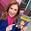 Bestselling author Liz H Kelly with her new book, 8 Second PR (January 2019)