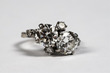 Lot #559, a Fine Platinum and Gold Double Diamond Ring, Estimated at $10,000-20,000.