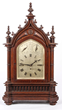 Lot #1254, a Lenzkirch Bracket Clock With Chiming Fusee Movement, Estimated at $2,000-3,000.