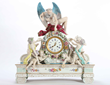 Lot #1495, a Monumental German Meissen Figural Clock, Estimated at $35,000-55,000.