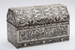 Lot #1537, a 17th Century Vizagapatam Dresser Box, Estimated at $2,000-3,000.