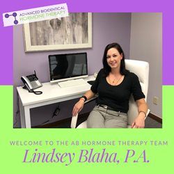 AB Hormone Therapy welcomes Lindsey Blaha to the team!