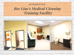 Introducing Bee Line's Medical Cleaning Training Center