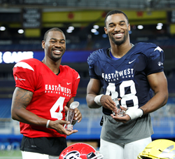 Godwin and Hollins named Most Outstanding at 94th East-West Shrine Game
