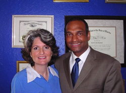 Rambana & Ricci partners and attorneys Elizabeth Ricci (left) and Neil Rambana (right)