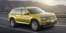 green 2018 Volkswagen Atlas