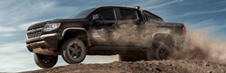 black 2019 chevy colorado