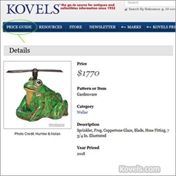 kovels, antiques, collectibles, prices, online price guide