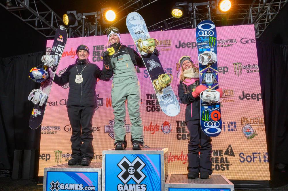 Monster Energy's Jamie Anderson Wins Bronze in Women's ...