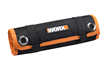 WORX 67-Piece Drill Bit Accessory Kit is organized in a durable, roll-up case for convenient storage and transport.