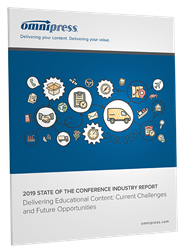 2019 State of the Conference Industry Report for association and meeting professionals
