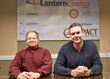 Lantern Energy Co-founders Craig Frenkel (L) and Peter Callan (R) celebrate 10 years in business.