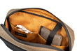 Sutter Sling Pouch — internal pockets help organize daily essentials