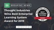 Thought Industries was named the Best Corporate Extended Enterprise Learning System by Talented Learning.