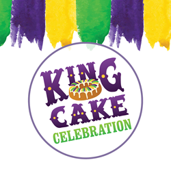 King Cake Celebration at Cypress Bayou Casino Hotel!