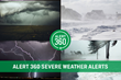 Alert 360 Severe Weather Alert on your Security Panel