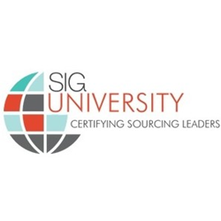 SIG University offers certifications in sourcing, supply management and third-party risk.