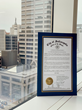 Mayor Joe Hogsett issued proclamation making Feb. 19 officially 'Lev Day'.