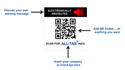 ALL-TAG Develops Customizable 31x32 mm SuperLabel Combines Security with Omni-Channel Marketing