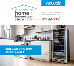 NewAir Appliances attends IHHS in Chicago March 2 - 5, 2019, booth L12654