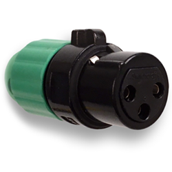 Heilind stocking Switchcraft AAA Series low-profile XLR connectors