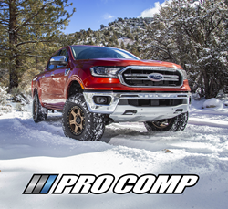 Pro Comp's new Level Lift system allows the Ford Ranger to fit the larger tires required for off-roading while maintaining its factory street ride.