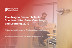 sales coaching and learning tech spectrum 2019