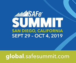 Registration is open for the 2019 Global SAFe Summit at global.safesummit.com