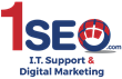 1SEO I.T. Support & Digital Marketing logo