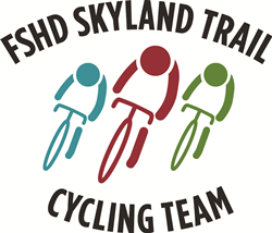 FSHD Skyland Trail Race Across America team logo