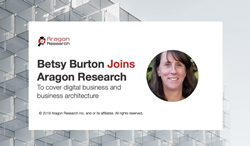 betsy burton joins aragon research