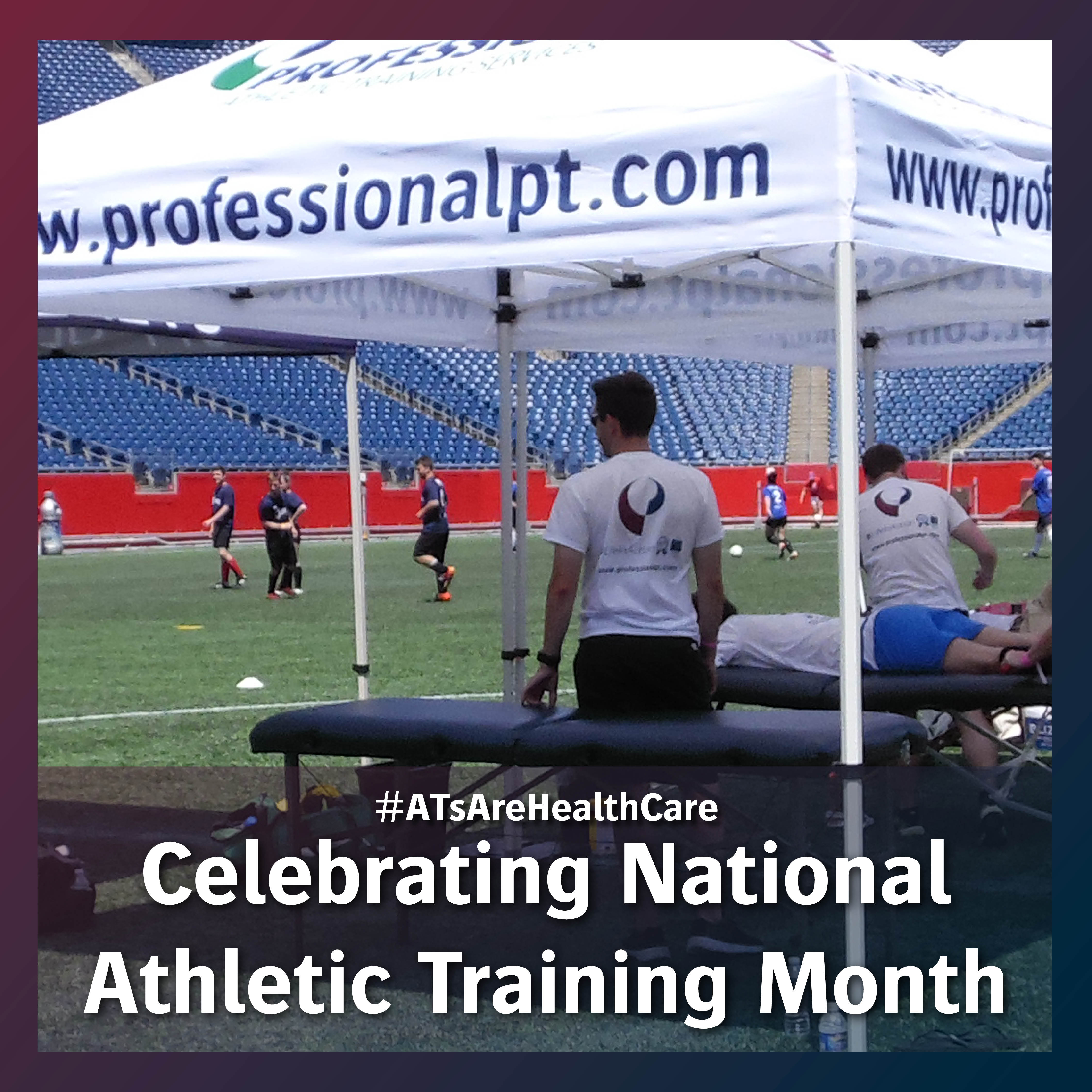Professional physical therapy celebrates national athletic training month in march for Professional physical therapy garden city
