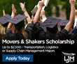 LJM Group to Fund 'Movers & Shakers' Scholarship for Logistics & Supply Chain Students
