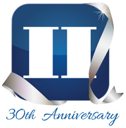 America II's 30th Anniversary Commemorative Logo