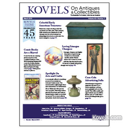 kovels, antiques, collectibles, painted furniture, limoges, comic books, arts and crafts,  coca-cola advertising