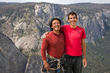 "Jimmy Chin with climbing phenom Alex Honnold while filming the Oscar winning-documentary ""Free Solo"" (© National Geographic Partners)."