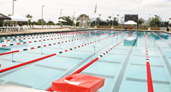 The Aztec Aquaplex, home of Nike Swim Camp at San Diego University