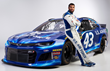 "Darrell ""Bubba"" Wallace Jr. uses Performance Plus oil in his No. 43 Richard Petty Motorsports Chevrolet Camaro"