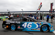 Richard Petty's grandson, Thad Moffitt, runs Performance Plus in his No. 46 Chevrolet SS for Empire Racing
